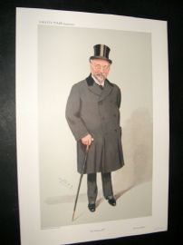 Vanity Fair Print 1909 Sir Horace Regnart